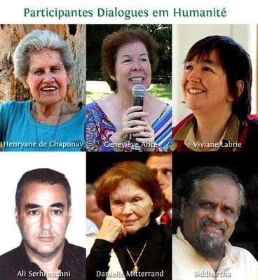 """Participantes """"Dialogues en Humanité"""""""