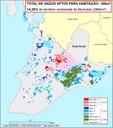 Mapa 3 - Vazios aptos para habitação (Salvador 2002)